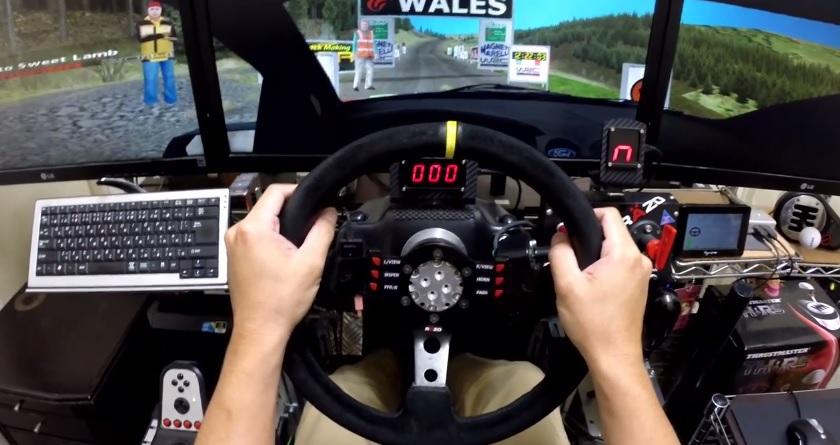 Egy ralis játék, ami még manapság is bealáz, pláne ezzel a felszereléssel: Richard Burns Rally