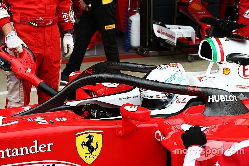 Ferrari fait rouler le Halo 2 à Silverstone