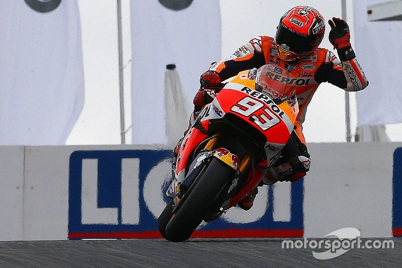 MotoGPドイツ:マルケス今季4回目のPP。ロレンソ2回の転倒
