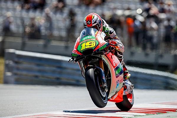 MotoGP Actualités Bautista pas convaincu par le nouveau bras oscillant Aprilia