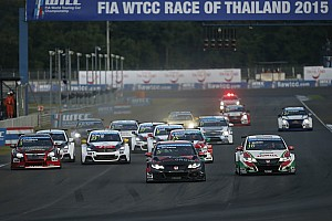 WTCC Breaking news WTCC's Thailand round could face cancellation