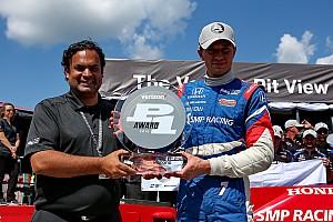 IndyCar Qualifiche Mikhail Aleshin centra la prima pole in IndyCar a Pocono