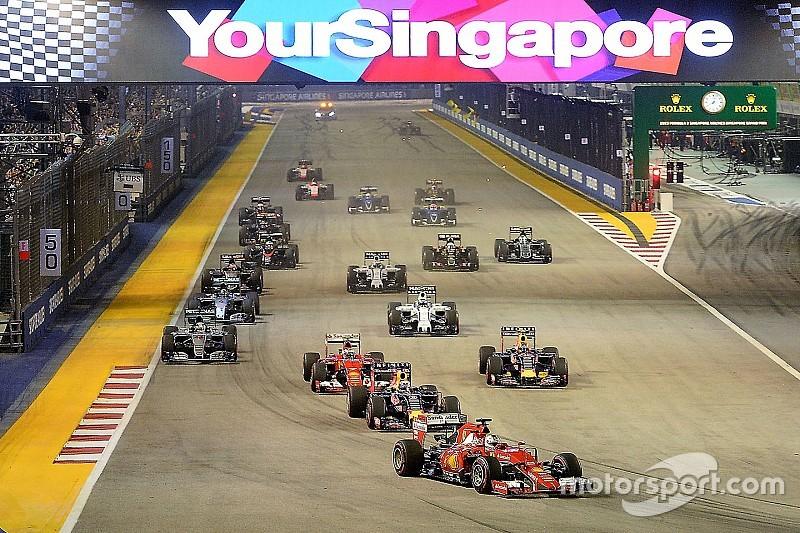 """新加坡透露十周年""""夜赛""""日期,2017赛历存在变数"""