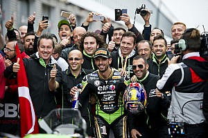 Supersport Qualifiche Kenan Sofuoglu domina anche sull'acqua e fa la pole a Magny-Cours