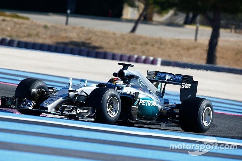 ハミルトンとロズベルグ、2017年タイヤのテストに参加決定