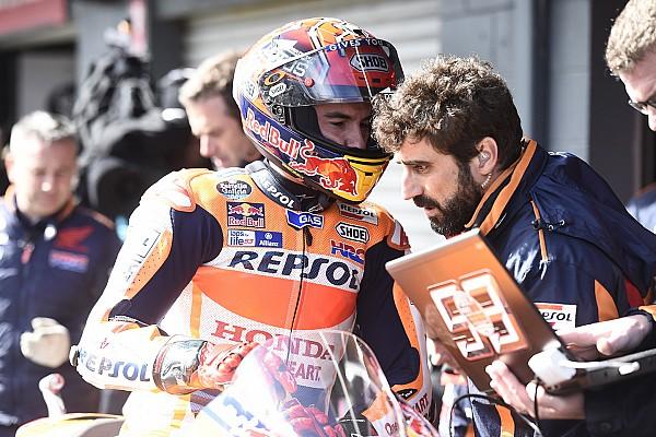 """MotoGP Noticias de última hora Márquez: """"Sin tener ya el título no habría apretado tanto"""""""