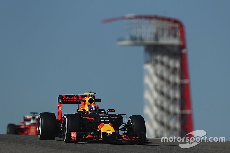 美国大奖赛FP3:红牛力压梅赛德斯,包揽一二