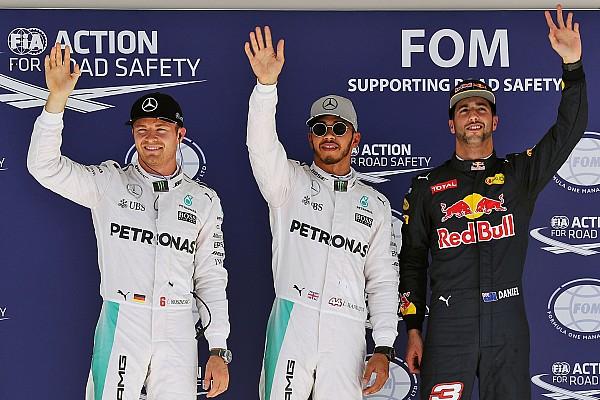 Formule 1 Résultats La grille de départ du GP des États-Unis
