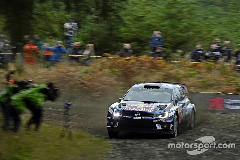 WRC in Wales: Sebastien Ogier übernimmt die Führung