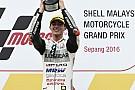 Moto3 Bagnaia vainqueur au milieu de l'hécatombe