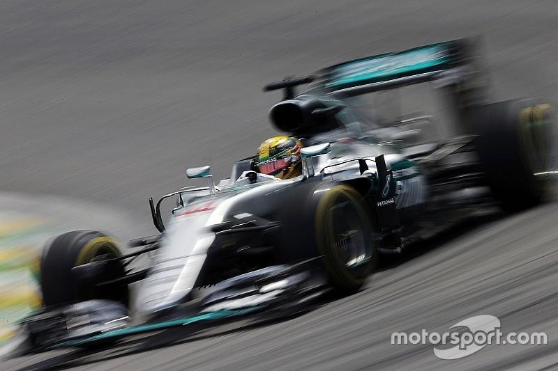 【F1ブラジルGP】予選:小雨のサンパウロ、勝負のセクター3。ハミルトンがポール獲得