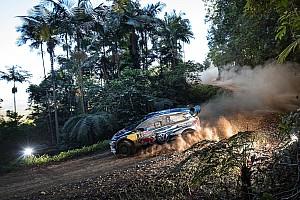 WRC Отчет о секции Ожье приступил к погоне за лидером Ралли Австралия