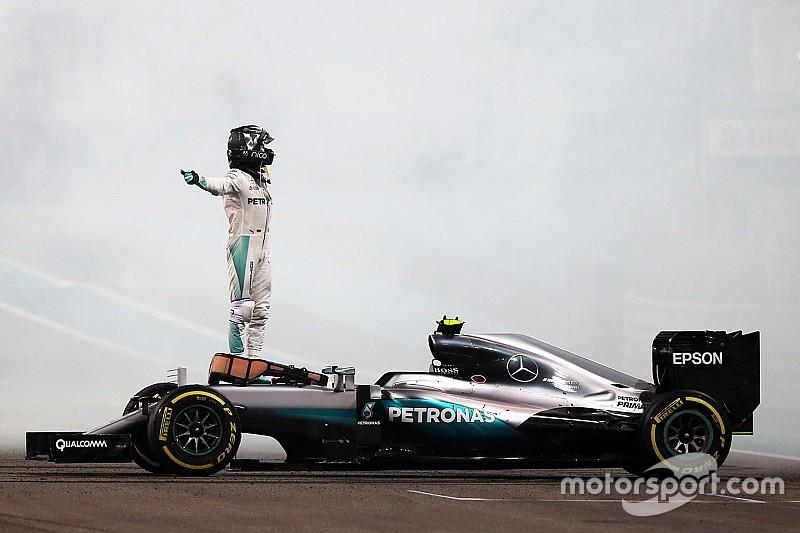 Mercedes: Nico Rosberg ist gefahren