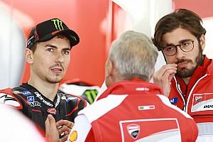 """MotoGP Noticias de última hora Lorenzo: """"No me será fácil ir más rápido que Dovizioso"""""""