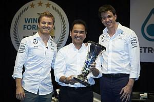 Formule 1 Toplijst De leukste tweets over het afscheid van Nico Rosberg
