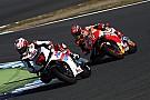 Fernando Alonso si diverte sulla Honda RC213V MotoGP a Motegi