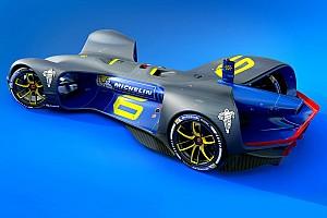 Формула E Новость Michelin будет поставлять шины для гонок «беспилотников»