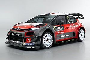 WRC Важливі новини Команда Citroen представила новий C3 WRC 2017