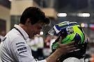 """Wolff: """"Mercedes heeft financieel bijgedragen aan rentree Massa"""""""