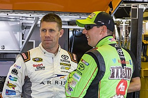 Kyle Busch shocked by Edwards, looks to future with Suarez and Jones