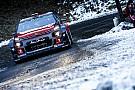 WRC Yol otomobili ile çarpışan Meeke ralliye veda etti