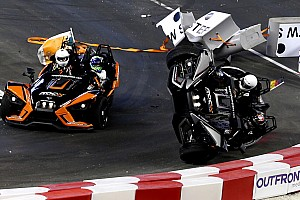 Wehrlein start na zware crash niet meer in Race of Champions