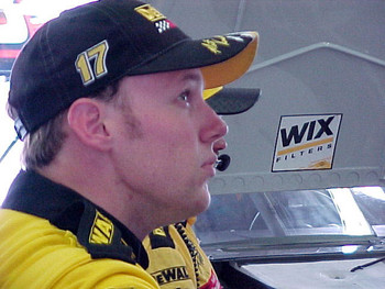 Matt Kenseth in contemplation