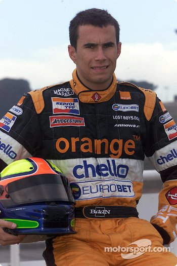 Brazilian rookie Enrique Bernoldi