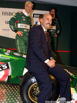Eddie Irvine, Luciano Burti, Tomas Scheckter and Bobby Rahal