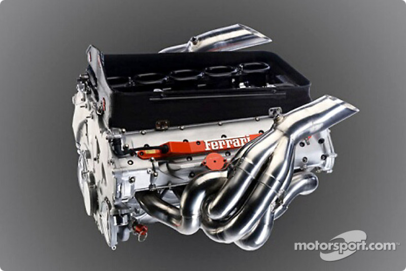 The all new Ferrari 050 V10 engine