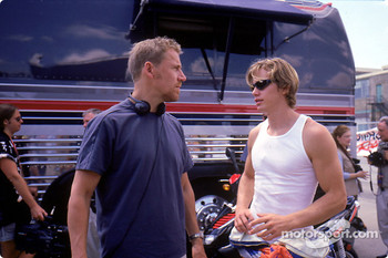 Renny Harlin and Kip Pardue