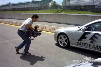 Filming the Safety Car
