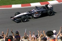 Fastest man of the day: Mika Hakkinen
