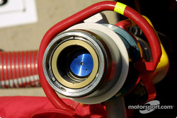 Close-up shot of a fuse hose