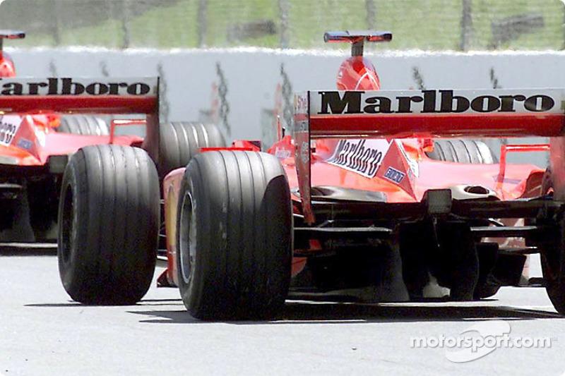 The two Ferraris