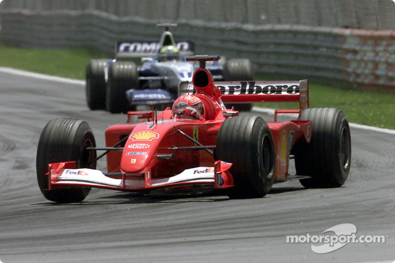 Michael Schumacher and Ralf Schumacher