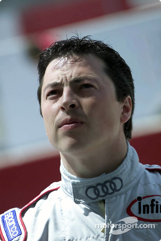 Audi newcomer Christian Pescatori during first qualifying on Wednesday