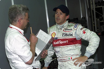 Rinaldo Capello (Audi Sport North America) achieved pole position