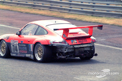 Busted up Porsche
