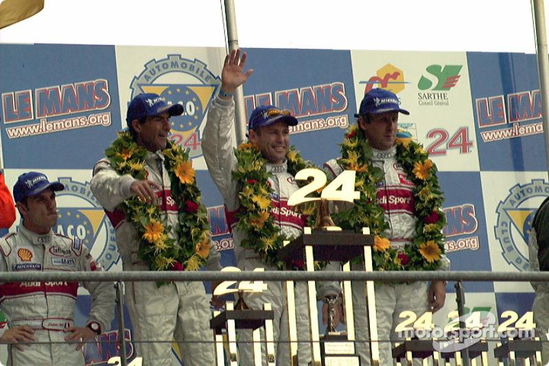 Pirro, Biela, Kristensen, 1st place