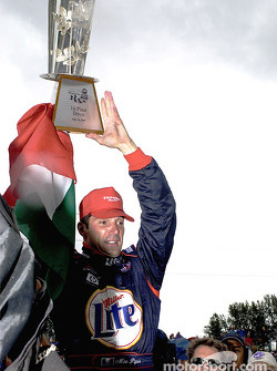 Race winner Max Papis