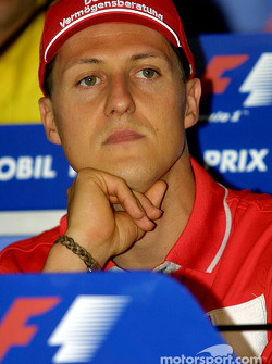Thursday press conference: Michael Schumacher