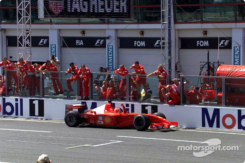A 50th Grand Prix win for Michael Schumacher