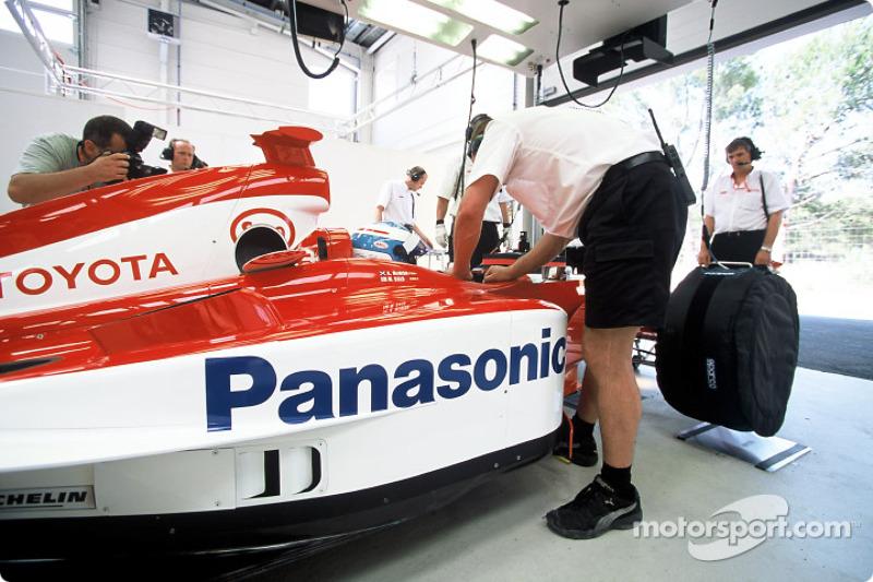 In the garage: Mika Salo