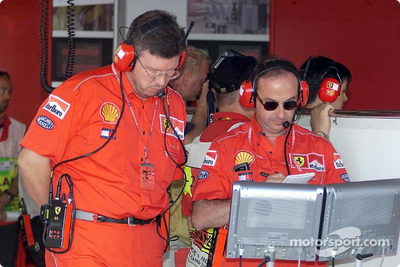 Ross Brawn and Claudio Berro