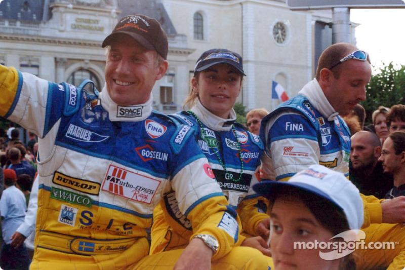 Carl Rosenblad, Vanina Ickx and Vincent Vosse