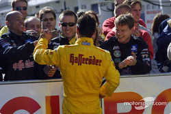 Laurent Aiello and his team
