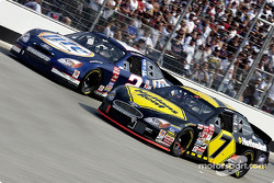 Battle between Mike and Rusty Wallace