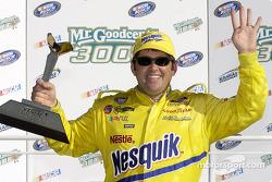 Race winner Jeff Green