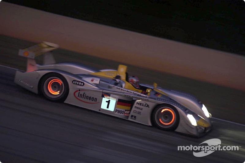 Rinaldo Capello in the Infineon Audi R8 #1